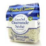 Le Guerandais Dried Sea Salt (Gros Sel Guerande Seche) for Grinders - 500g